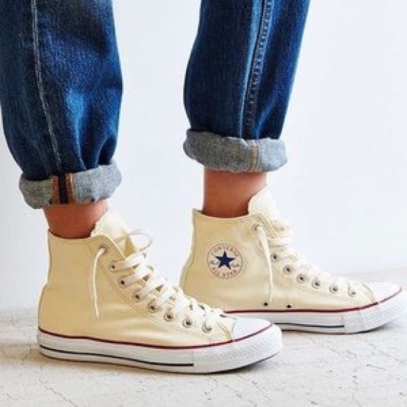 cream converse high tops - WinWin Atlantic